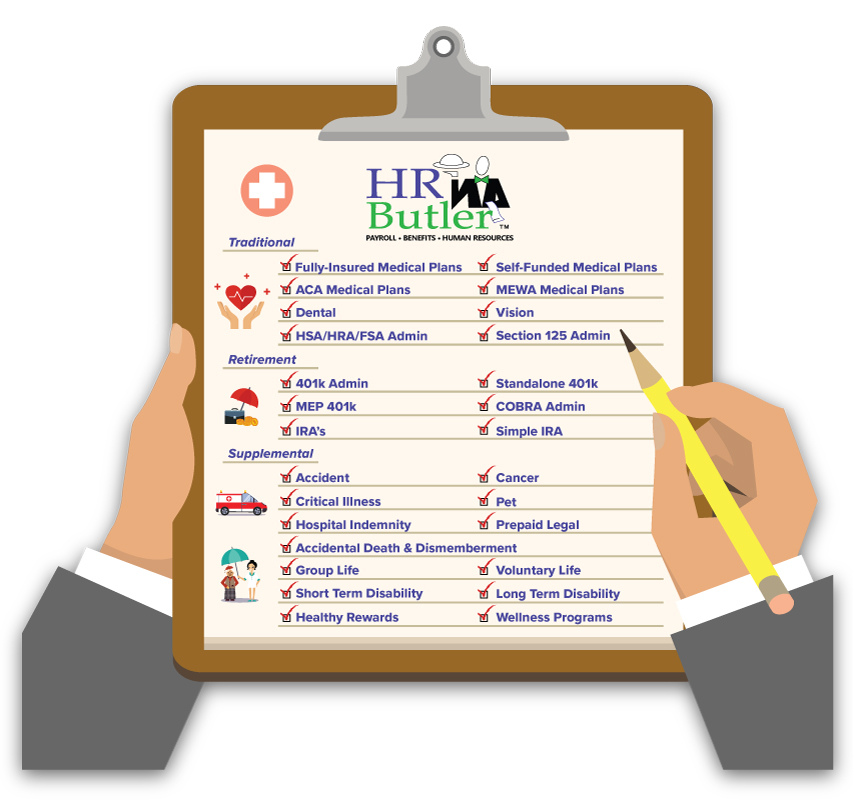 HR Butler Benefits Offerings